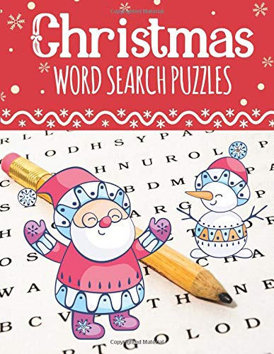 Christmas Word Search Puzzles: Large Print Christmas Word Search Puzzles for Adults & Kids (Word Search Books for Kids & Adults) por Sandra Holiday