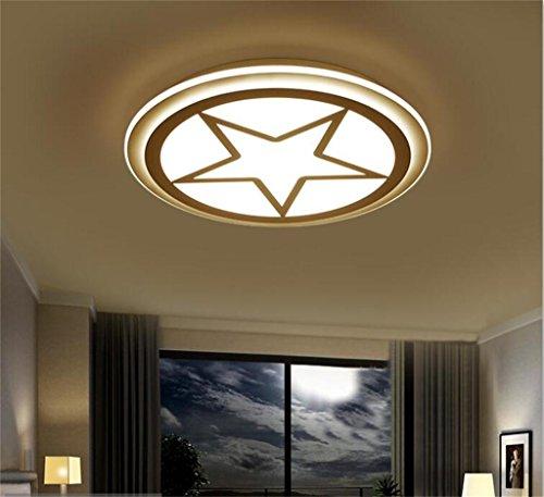 Umgebungs-Deckenleuchte, moderne LED ultradünne Kreisdeckenlampen Kinder Raum Wirkungsgrad: A +++ ( größe : 42 cm segment tricolor ) Wirkungsgrad