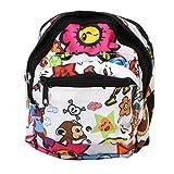Junlinto Vogue Pet Bag Rucksack Outdoor-Reise-Träger für Welpen Katzen Hund mit Leine New Pink L