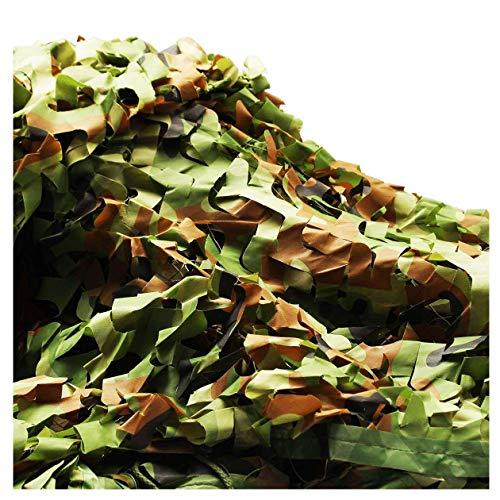Camouflage Sun Tarnnetz Thicken Tarnnetz Geeignet für Kinderzimmer Dekoration im Freien Camping versteckte Jagd Fotografie Schatten Wald Halloween Weihnachtsdekoration (Size : 6 * 8m)