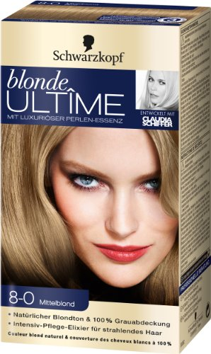 blonde ULTÃŽME  8-0 Mittelblond, 3er Pack (3 x 143 ml)
