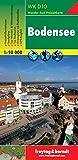 Freytag Berndt Wanderkarten, WK D10, Bodensee - Maßstab 1:50.000 (freytag & berndt Wander-Rad-Freizeitkarten)