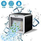 Zzyff Refreshing Summer Mini Dustproof Humidification Summer Cooling Fan Square USB Water Cooling