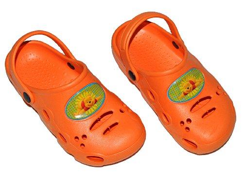 Unbekannt Clogs Disney Winnie The Pooh - Größe 26 Schuhe Schuh Sandalen Badeschuhe Hausschuh Pantoffel Kinder
