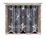 HAFT® Gardine; Store; Vorhang transparent, weiß, Kräuselband 160x300 cm