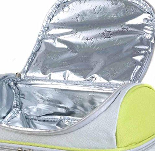 Picnic All'aperto Cooler Sacchetto Più Freddo Del Sacchetto Di Pranzo Al Sacco Allattamento Al Fresco Borsa Portatile,C b