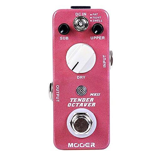 Mooer Tender Octaver Mkii - Pedal de efectos para guitarra