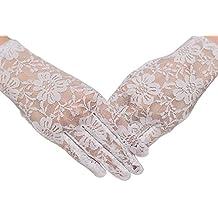 HO-Ersoka señoras guantes de encaje corto