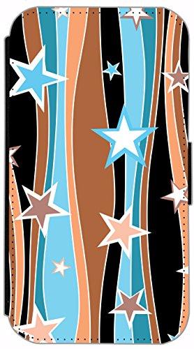 Flip Cover für Apple iPhone 6 / 6S (4,7 Zoll) Design 226 Drache Dragon Rot Grün Gelb Blau Hülle aus Kunst-Leder Handytasche Etui Schutzhülle Case Wallet Buchflip mit Bild (226) 236