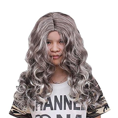 Masques Drôles De Halloween Adultes - Combinaison de maquillage de perruque de Halloween