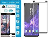 #10: Sparkling Trends™ Premium Case Friendly 3D Tempered Glass Screen Protector for Samsung Galaxy S9 PLUS 6.2 Inch (Black)