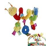 nuolux Spirale Spielzeug für Baby RC Rasseln Kinderwagen Spielzeug Bettwäsche Kinderwagen Autositz