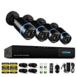 Best Bullet Surveillance Security Systems - H.View Home Security HD 1080P PoE NVR CCTV Review