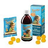 Travidyn Set - Multivitaminsirup + Lutschpastillen für Kinder ab 1 Jahr und Erwachsene