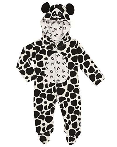 Whaou!!!! Animal Hooded Full Open Romper with Footies