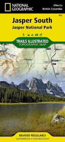 Jasper South: Trails Illustrated National Parks (National Geographic Trails Illustrated Map)