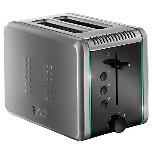 Russell Hobbs Illumina 20170-56 Toaster (Schnell-Toast-Technologie, 1200 W) grau