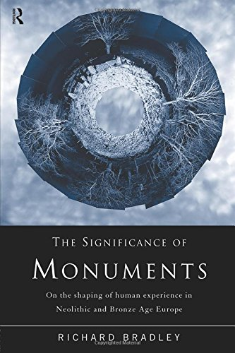 The Significance of Monuments: On the Shaping of Human Experience in Neolithic and Bronze Age Europe por Richard Bradley
