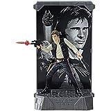 Star Wars Black Series 40º Aniversario Han Solo Figura Titanium Serie Die Cast Figura