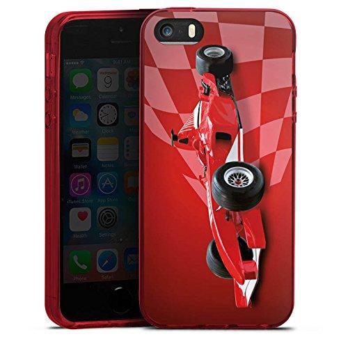 Apple iPhone 5s Silikon Hülle Case Schutzhülle Formel1 F1 Rennwagen