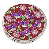 Gancho para Colgar Bolso de Mano de Goma Antideslizante Mariposas Violetas