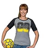 BVB-09-T-Shirt für Frauen Anthrazit M