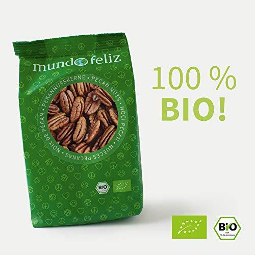 Mundo Feliz Pekan-Nüsse aus Bio-Anbau, 5 x 100 g