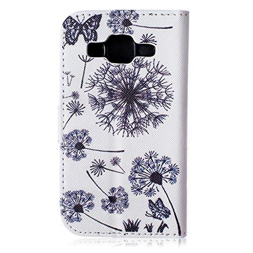 iPhone 5/5S Case se, w-pigcase coloré Exquise Étui en cuir PU avec joli design et confortable feelling pour iPhone 5/5S/5C/SE Jaune