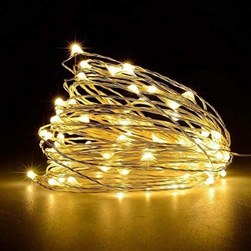 yagot wasserdichte LED Lichterkette Feiertage, Party, Hochzeit Deko Lampe Lichterketten 1/2/3/5m Innen- und Außendekoration