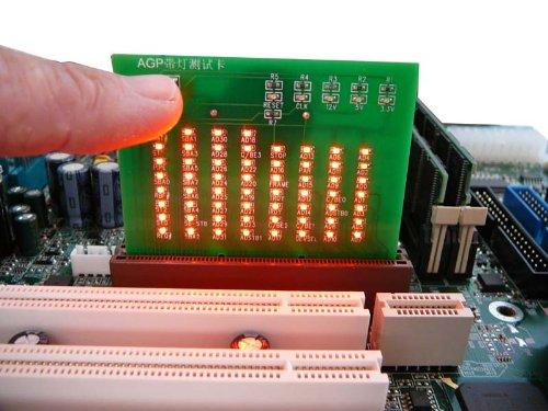 Kalea Informatique Tester zu Dioden LED für Port AGP (Agp-pcie)