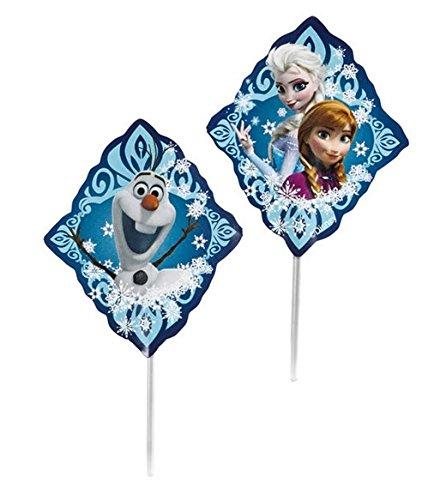 Frozen Party Cake Decorations Pix Sticks