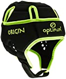 Optimum Homme Origin Casque de protection - Black/Fluorescent Yellow, Small