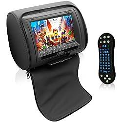 Pyle Headrest Monitor Home Audio/Video Product Black (PL74DBK)