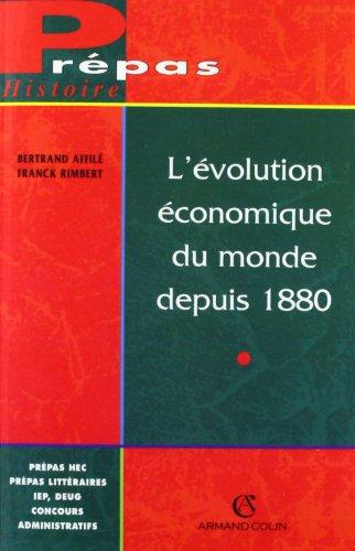L'évolution économique du monde de...