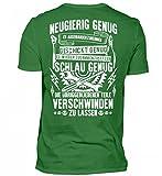 Hochwertiges Herren Shirt - Mechaniker: Neugierig, Geschickt und Schlau Genug Mann Geschek Schrauber