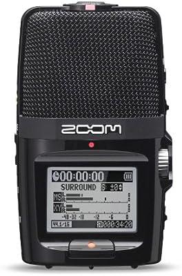 Zoom H2N - Grabador de sonido digital portátil, negro [importado]