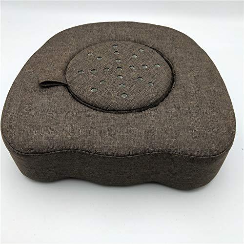 Upgrade Multifunktionale Moxibustion-Therapie Kissen Moxa Box kann Sat (Adjustable Vent),Brown -