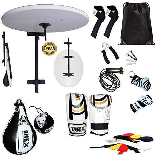 onex-12pc-boxing-speedball-rex-leather-gym-training-platform-set