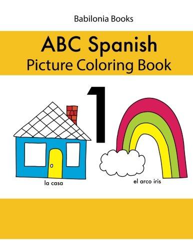 Babilonia Books ABC Spanish picture coloring book 1 par Hilda von Hase