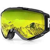 findway Skibrille, Snowboard Brille für Brillenträger Herren Damen Erwachsene...