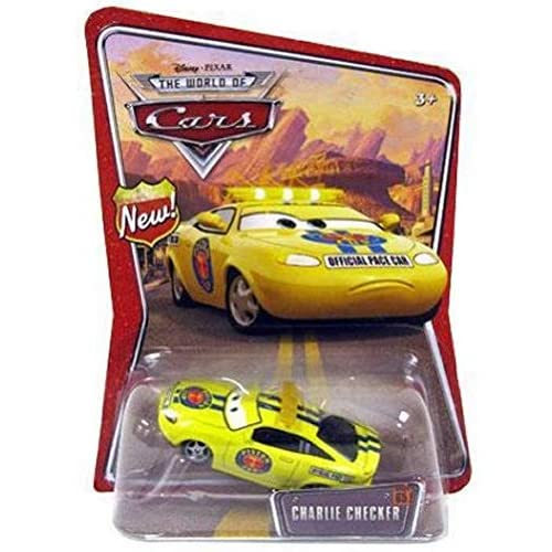 Disney / Pixar CARS Movie 1:55 Die Cast Car Series 3 World of Cars Charlie Checker 3