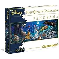 Clementoni 39245 - Puzzle Panorama disney-Sweet Night, 1000 pezzi
