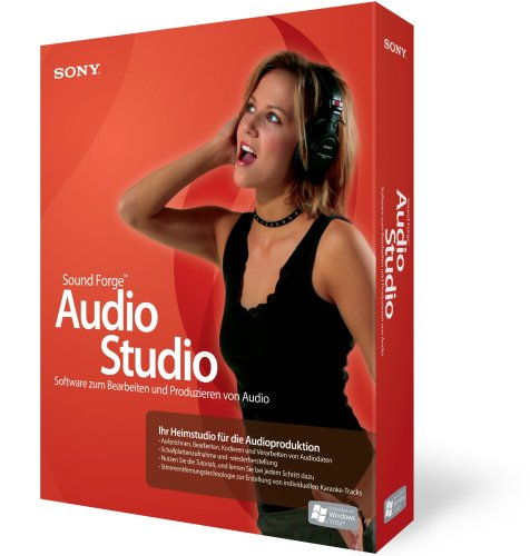 Sony Sound Forge Audio Studio 9 (Sony Forge Studio Audio Sound)