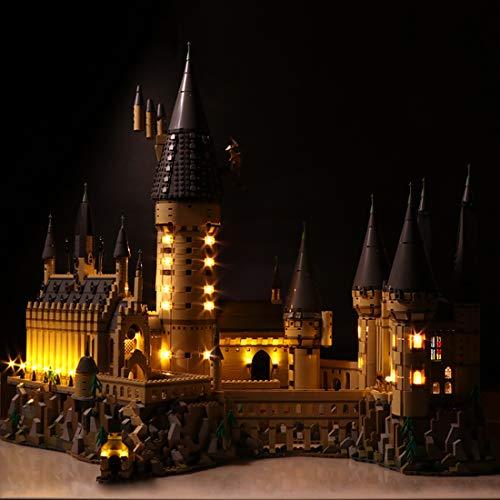 Poxl LED Beleuchtung Für Harry Potter Schloss Hogwarts LED Light LED Licht Kit Kompatibel Mit Lego 71043 - Lego Modell Nicht Enthalten (Lego-harry-potter-kits)