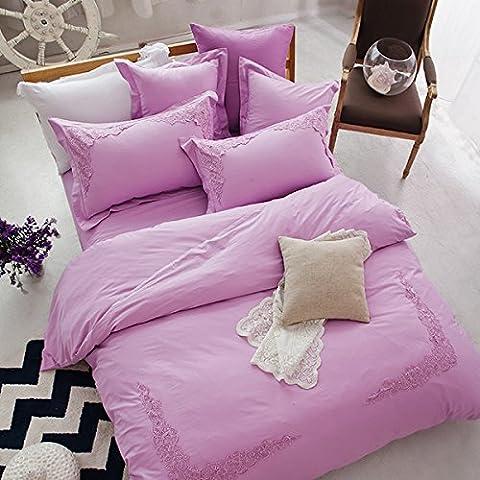 Set di biancheria da letto,100% Cotone 75-pezzo Copripiumino imposta,set di fogli Bed copre quattro set di cotone in Europa su Air King