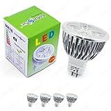 Energmix 2279w 4x MR16 / GU5.3 LED SPOT Lampe LED Strahler Energiesparlampe-Leuchtmittel
