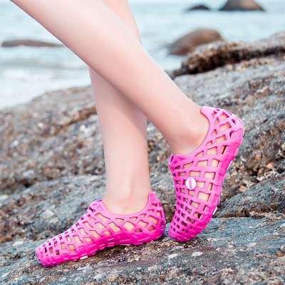 Baotou Da Lin Sandali Xing Uomini Rosa Di Foro Spiaggia Per L'estate Rossa Coppia Grandi Ciabatte YfvwCxaqC