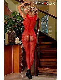 Provocative pr4428Rouge pour Femme Taille S/M