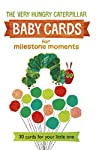 A beautiful set of thirty cards to record your baby's magical moments, with artwork by the Very Hungry Caterpillar creator Eric Carle.   Celebrate each special moment in your little one's life with the Very Hungry Caterpillar and friends. This great ...