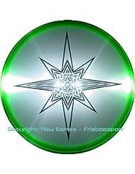 Aerobie Disco volador iluminado Skylighter LED Frisbee - verde